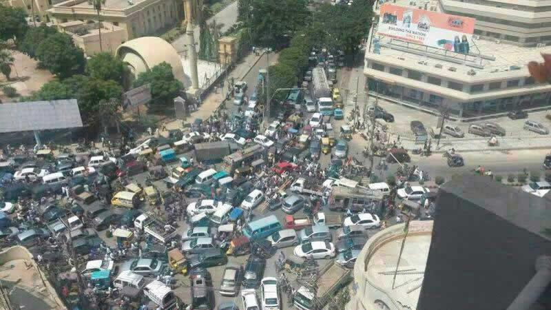 Traffic Congestion in the Karachi