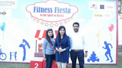 Shaukat Khanum Hospital Hosted Fitness Fiesta 2016