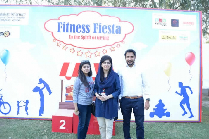 Shaukat Khanum Hospital Hosted Fitness Fiesta 2016