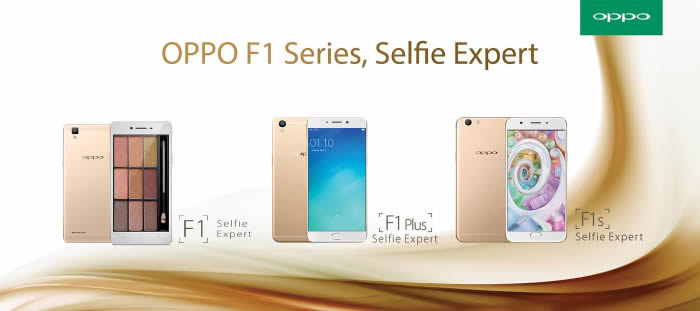 OPPO F1s Selfie Expert, with 16 MP Front Camera