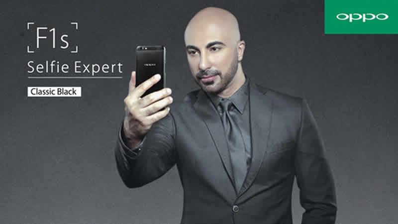 Pursuit of Beauty OPPO Unveils Classic Black F1s Selfie Expert