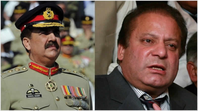 Raheel Sharif; You See, Why Nawaz Acted So Confidently?