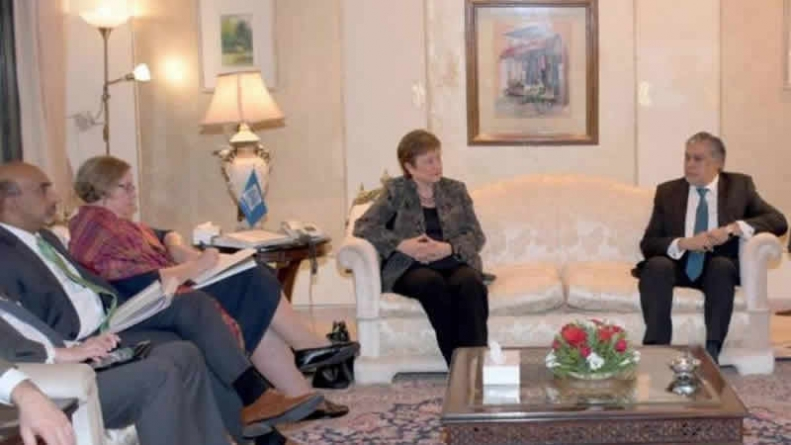 WB Delegation Discusses Indus Waters Treaty With Ishaq Dar