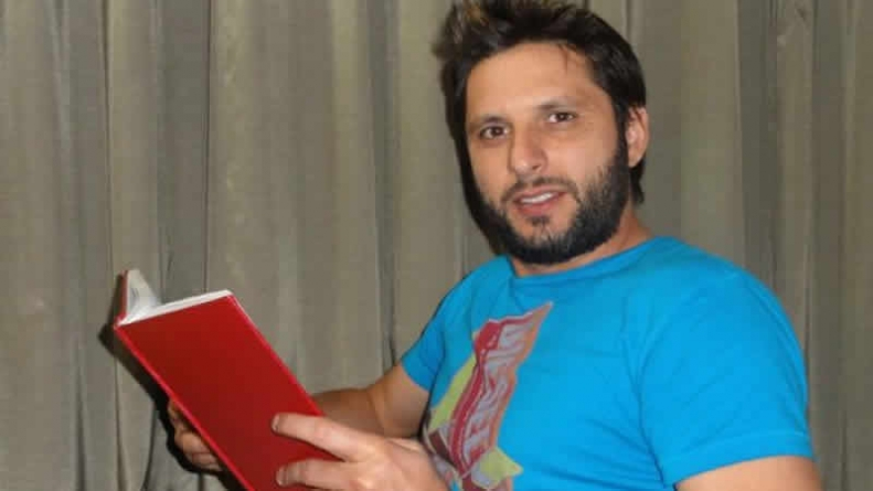 Afridi Stands By People Of Kashmir