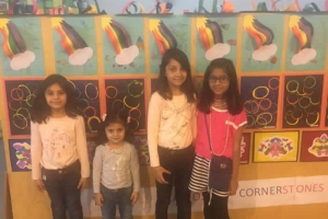 Cute little girls at the Open House Event