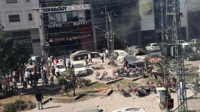 Eight killed In Blast At Restaurant In Lahore's Defence Area