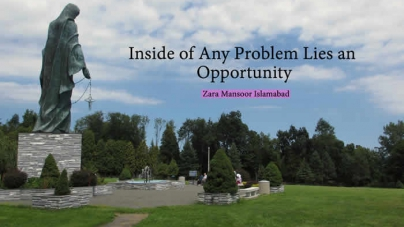 Inside of Any Problem Lies an Opportunity