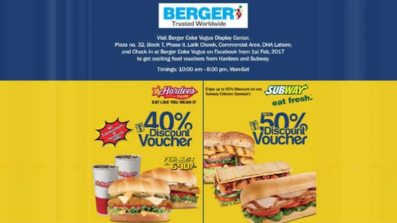 Visit Berger Color Vogue Display Center