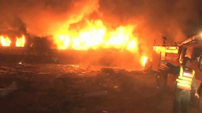 2 killed, 7 Injured As Shalimar Express Collides With Oil Tanker