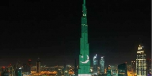 DG ISPR Thanks UAE Authorities For Burj Khalifa Spectacle