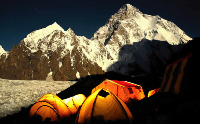 broad peak at nigh