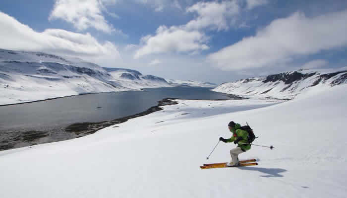 Iceland Ski Mountaineering, skiing and climbing