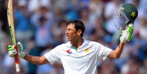 Younis First Pakistani Player To Reach 10,000 Test Runs