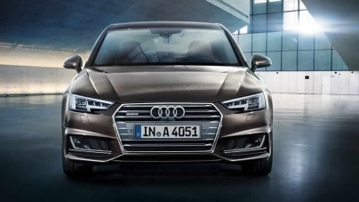 Audi Launches A4 Saloon In Pakistan