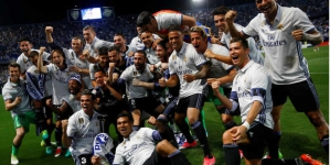 Football: Ronaldo Leads Real Madrid To 33rd La Liga Title