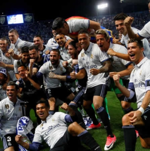 Football: Ronaldo Leads Real Madrid To 33rd La Liga Title