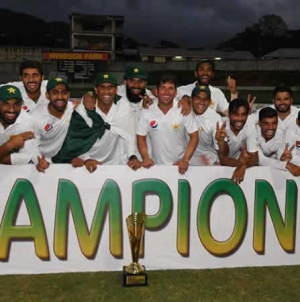Pakistan Clinch First-Ever Test Series Victory In West Indies
