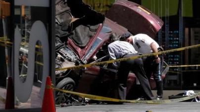 US Veteran kills One In Times Square Car Crash, 22 Hurt