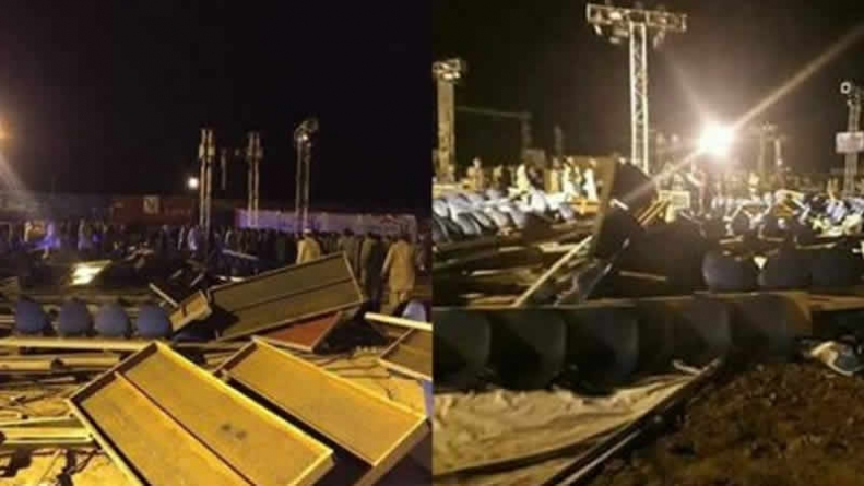 Woman Confirmed Dead In TV Channel's Stage Collapse
