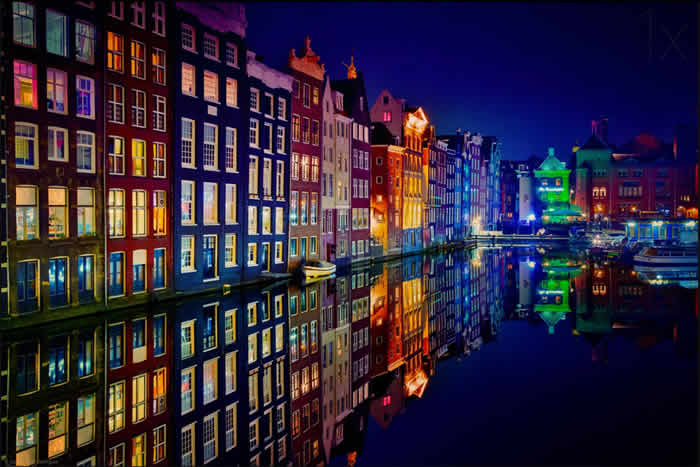 Canals Of Color Amsterdam, Netherlands