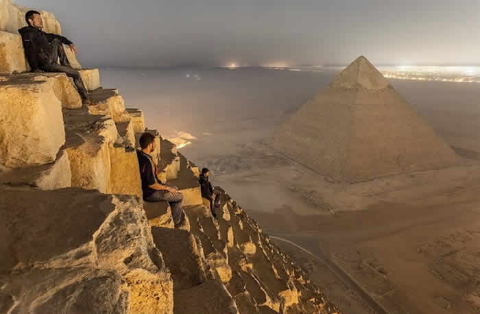 Climbing The Great Pyramid