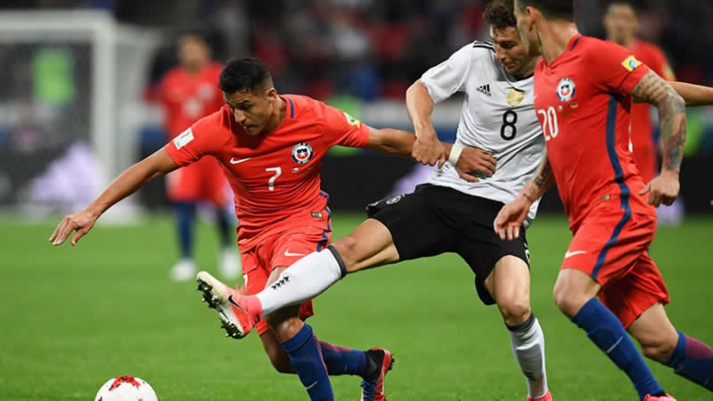 Football: Sanchez Makes History As Chile Draw With Germany