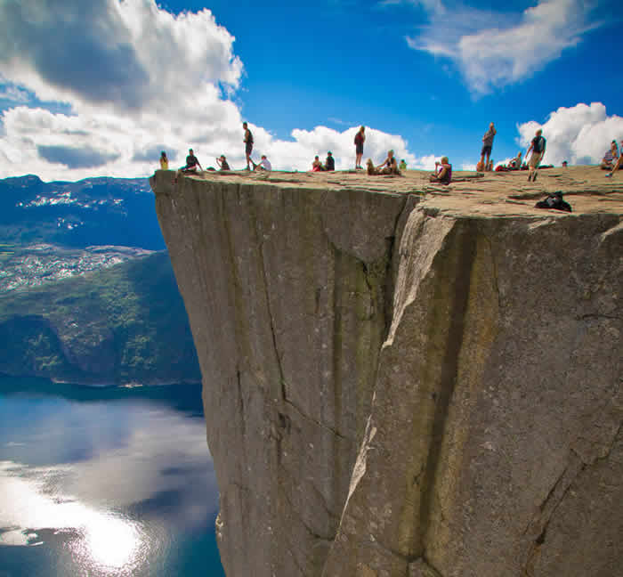 Preacher's Pulpit Preikestolen, Norway