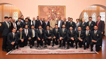 COAS Holds Reception For Victorious Pakistan Team