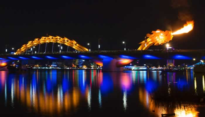 Dragon Bridge, Da Nang City, Vietnam