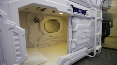 Eyeing Sleepy Office Workers, China's 'Sharing Economy' Opens Nap Capsule Hotels