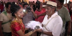 Mexican Mayor Weds Crocodile For Town's Prosperity