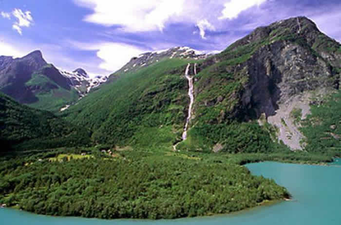 Monge Waterfalls, Norway