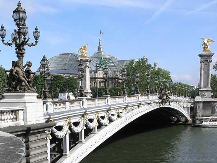 Pont Alexandre Iii, France