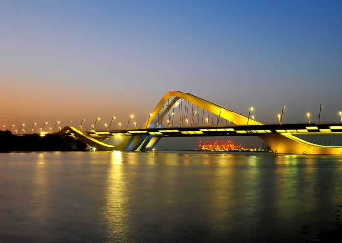 Sheikh Zayed Bridge, Abu Dhabi, United Arab Emirates