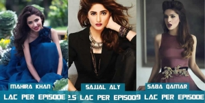 Top 10 Highest Paid Pakistani Actresses 2016