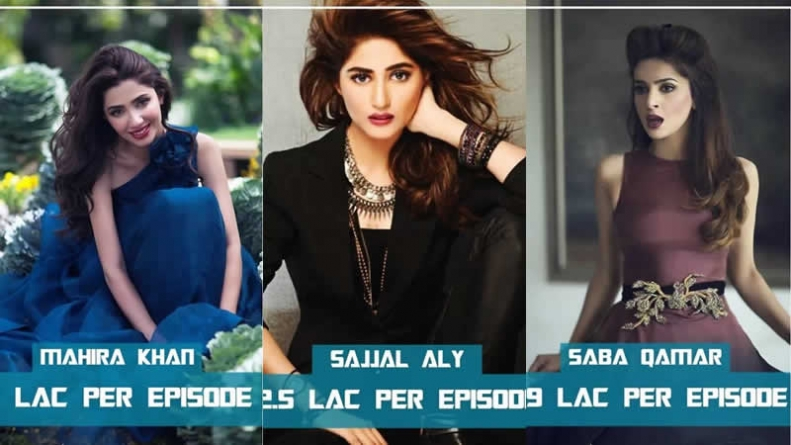 Top 10 Highest Paid Pakistani Actresses 2016