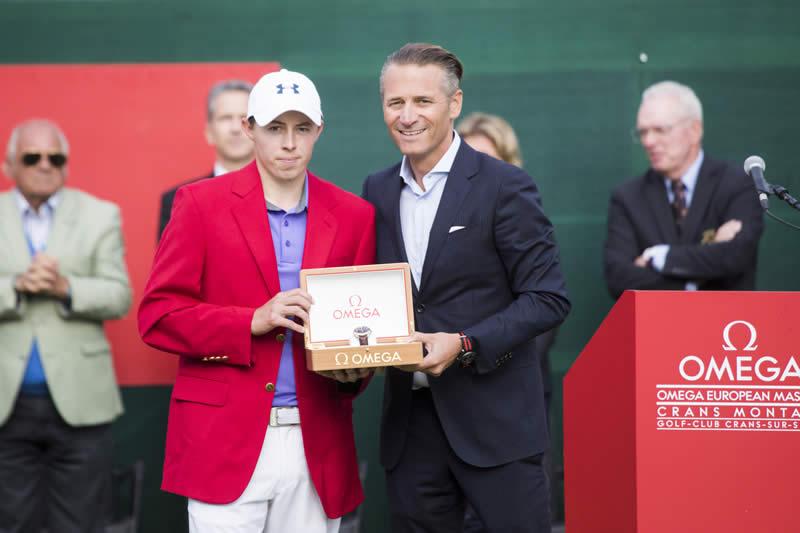 Matthew Fitzpatrick OMEGA European Masters 2017 Switzerland