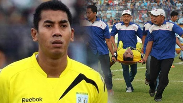 Indonesian Footballer Dies While Playing