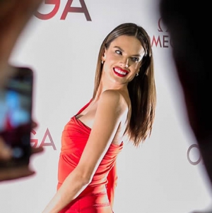 OMEGA celebrates the new Aqua Terra collection with Alessandra Ambrosio