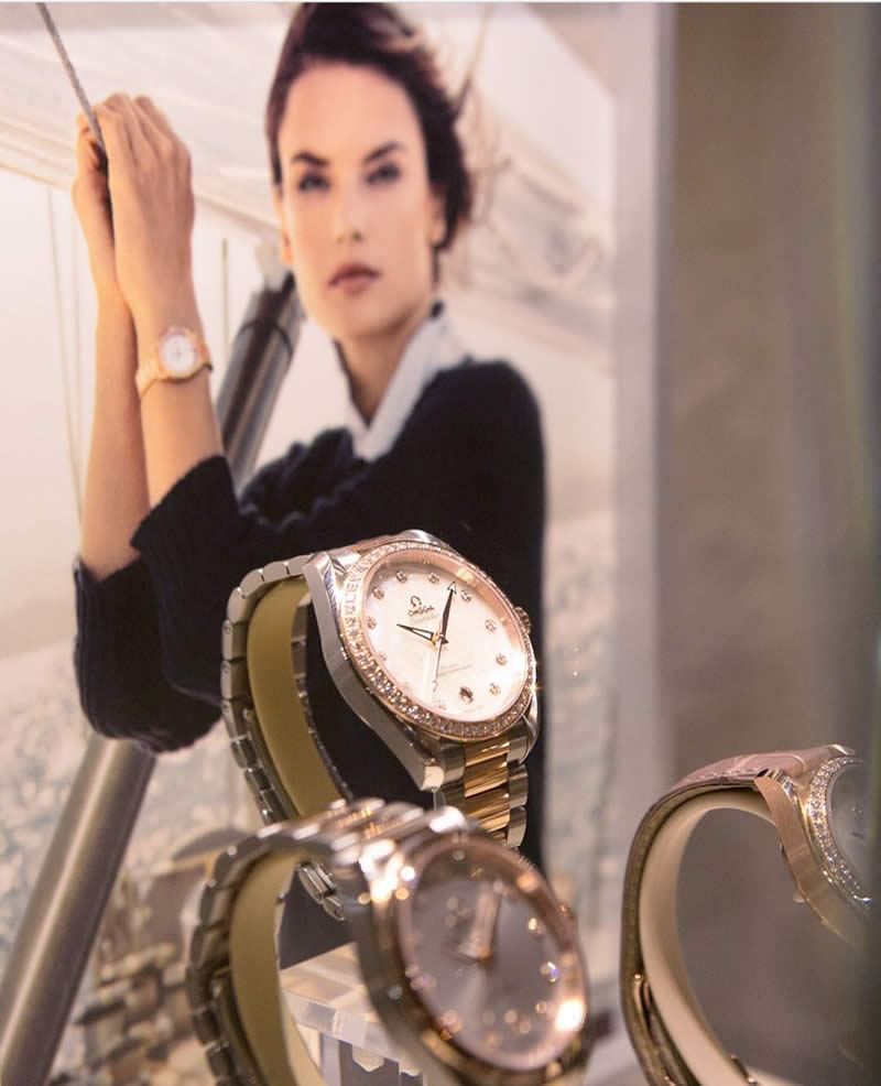 Alessandra Ambrosio OMEGA Watches