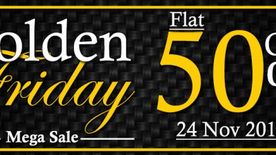 Golden Friday Mega Sale at Fashion Central Multi Brand Store