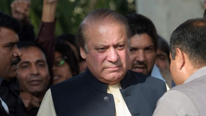 Nawaz says won't back down in face of testing times