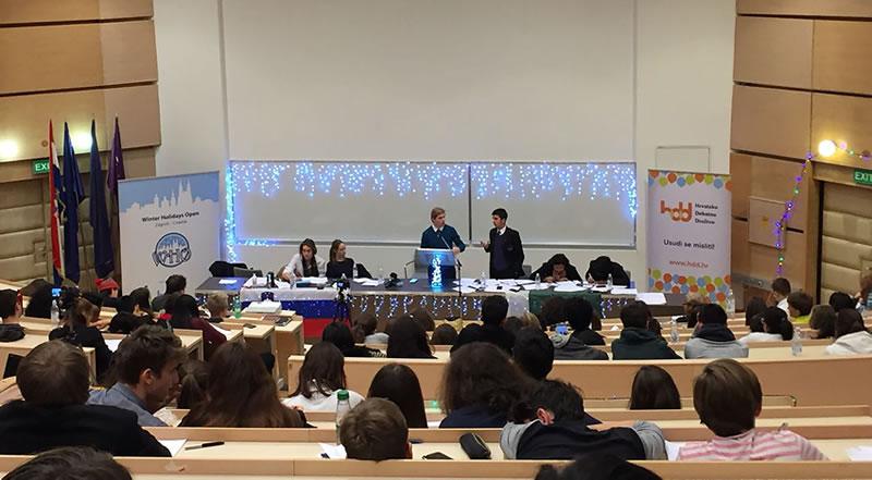 Pakistan Wins the Winter Holidays Open Debating Championship 2017 in Croatia