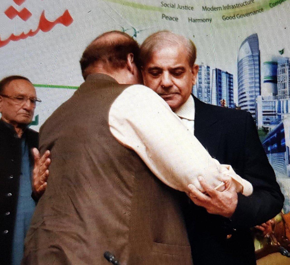 shahbaz sharif and nawaz sharif Photos