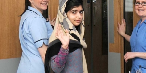 Malala leaves for London via Doha after four-day Pakistan visit
