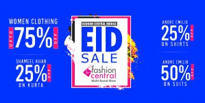 Fashion Central Brings Grand Eid Sale