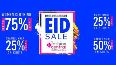 Fashion Central Brings Grand Eid Sale
