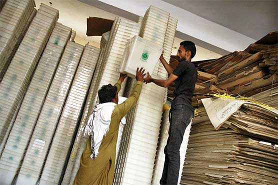 Distribution of Polling Material for Election 2018 Underway