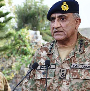 Bajwa asks India to Resume Dialogue for Peace