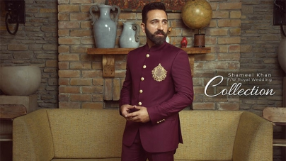 Shameel Khan Fall/Winter Royal Wedding Collection 2018-19